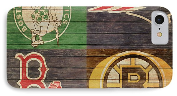 Boston Sports Teams Barn Door IPhone Case