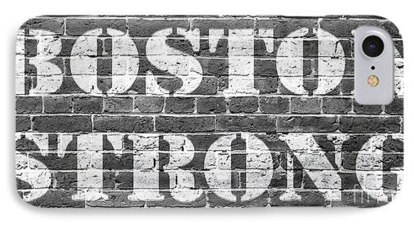 Boston Strong IPhone Case by Edward Fielding