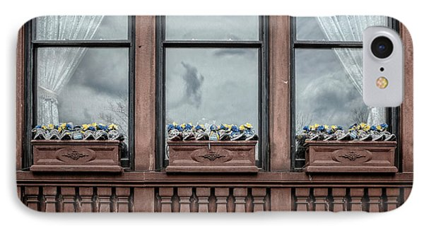 Boston Strong Window Boxes IPhone Case by Edward Fielding