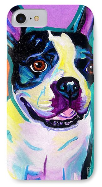 Boston Terrier - Jack Boston IPhone Case by Alicia VanNoy Call
