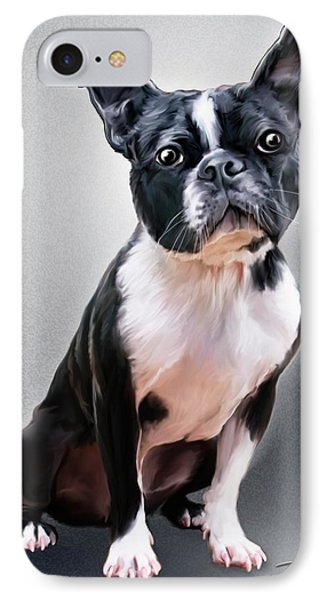 Boston Terrier By Spano IPhone Case
