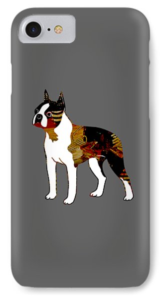Boston Terrier Collection IPhone Case by Marvin Blaine