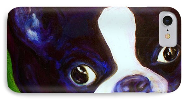 Boston Terrier - Elwood IPhone Case