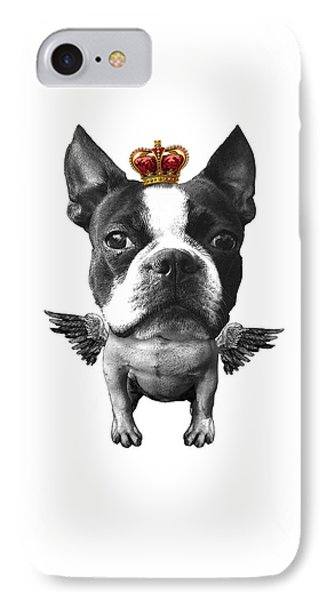 Boston Terrier, The King IPhone Case