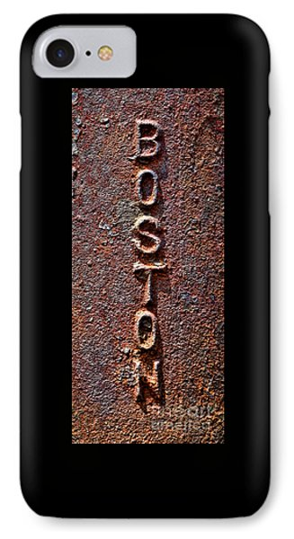 Boston Tough IPhone Case by Olivier Le Queinec