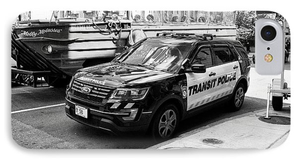 boston transit police ford interceptor suv patrol vehicle Boston USA IPhone Case