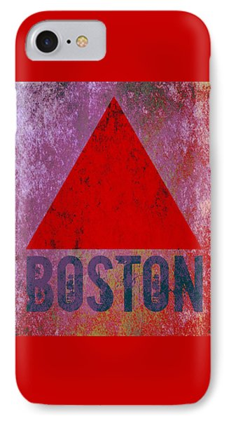 Boston Triangle IPhone Case by Brandi Fitzgerald