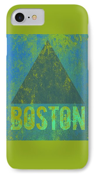 Boston Triangle V2 IPhone Case by Brandi Fitzgerald
