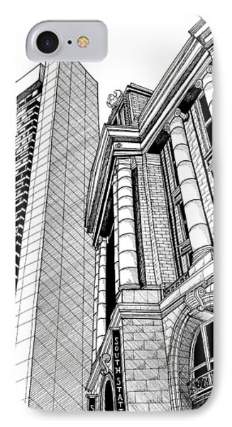 Boston's South Station IPhone Case