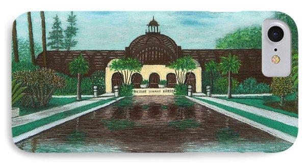 Botanical Building In Balboa Park 02 IPhone Case