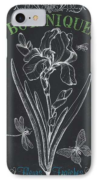 Botanique 1 IPhone 7 Case by Debbie DeWitt