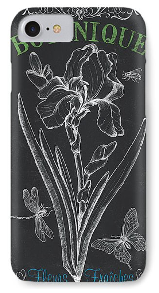 Botanique 1 IPhone Case by Debbie DeWitt