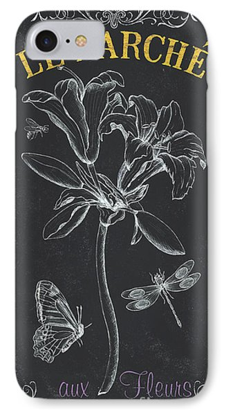 Botanique 3 IPhone Case by Debbie DeWitt