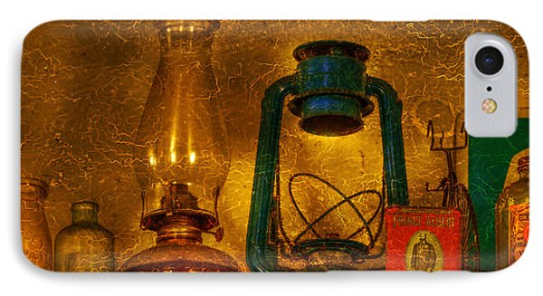 Bottles And Lamps Phone Case by Evelina Kremsdorf