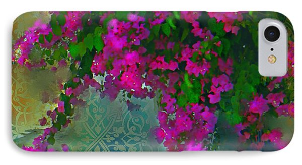 Bougainville Delight Phone Case by Seema Sayyidah