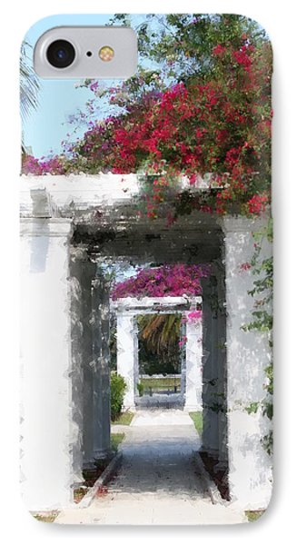 Bougainvillea IPhone Case by Diane Merkle