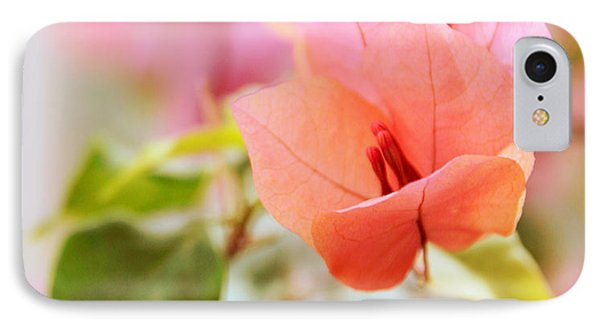 Bougainvillea Whispers IPhone Case by Jessica Jenney