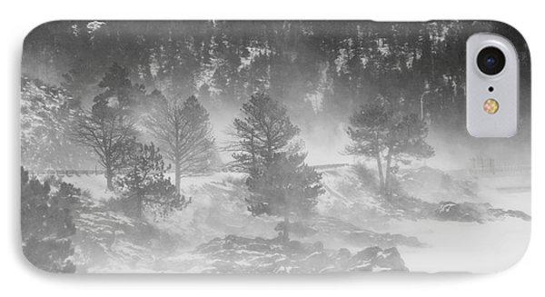 Boulder Canyon And Nederland Winter Landscape Phone Case by James BO  Insogna