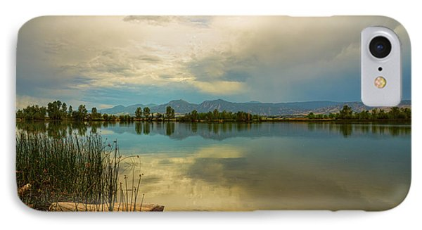 IPhone Case featuring the photograph Boulder County Colorado Calm Before The Storm by James BO Insogna