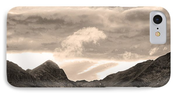 Boulder County Indian Peaks Sepia Image Phone Case by James BO  Insogna