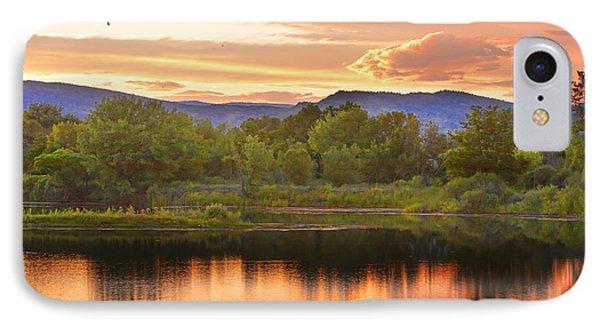 Boulder County Lake Sunset Landscape 06.26.2010 Phone Case by James BO  Insogna