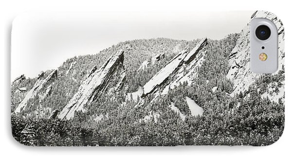 Boulder Flatirons Colorado 1 IPhone Case by Marilyn Hunt