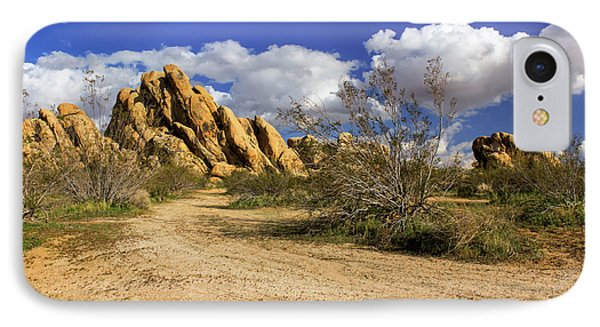 Boulders At Apple Valley Phone Case by James Eddy