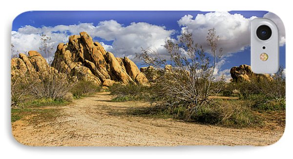 Boulders At Apple Valley IPhone Case