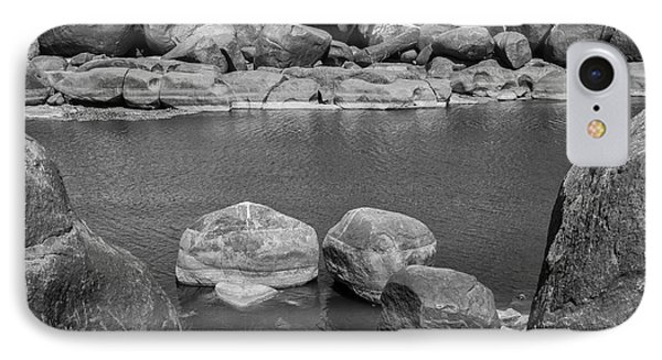 IPhone Case featuring the photograph Boulders Of Tungabhadra, Hampi, 2017 by Hitendra SINKAR