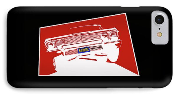Bounce. '63 Impala Lowrider. Phone Case by MOTORVATE STUDIO Colin Tresadern