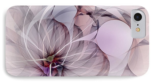 IPhone Case featuring the digital art Bound Away - Fractal Art by NirvanaBlues