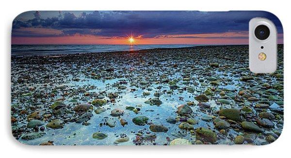Bound Brook Sunset IIi IPhone Case by Rick Berk