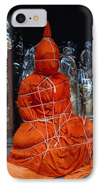 Bound Buddha IPhone Case by Carl Purcell