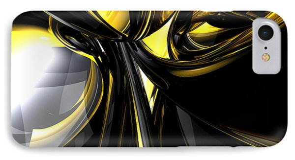 Bounded By Light Abstract Phone Case by Alexander Butler
