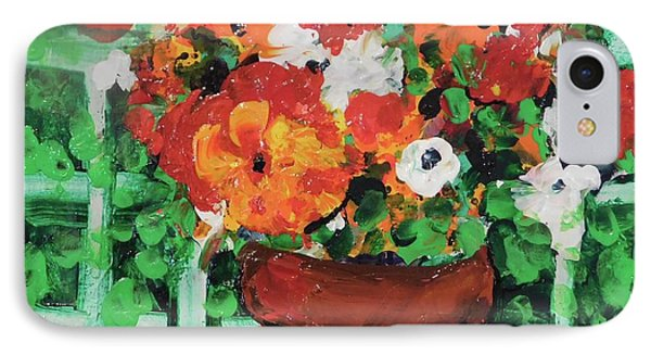 Bouquet A Day Floral Painting Original 59.00 By Elaine Elliott IPhone Case by Elaine Elliott