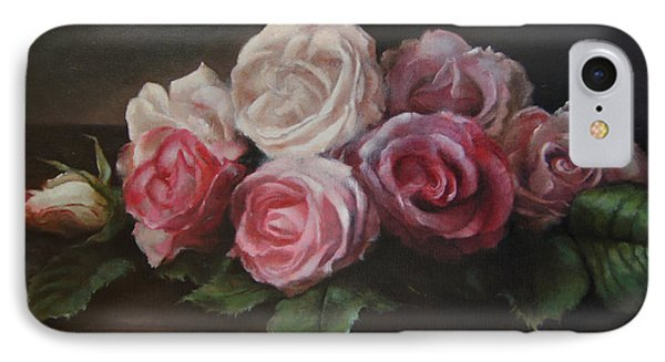 Bouquet De Table IPhone Case by Kira Weber