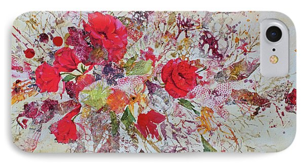 IPhone Case featuring the painting Bouquet Desjours by Joanne Smoley