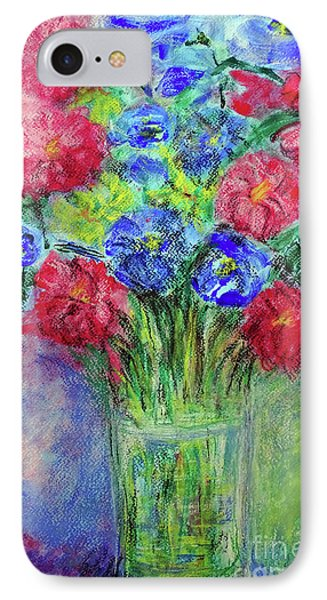 IPhone Case featuring the painting Bouquet by Jasna Dragun