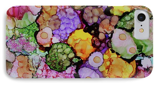 IPhone Case featuring the painting Bouquet Of Blooms by Joanne Smoley