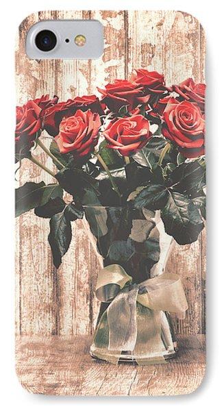 Bouquet Roses Phone Case by Wim Lanclus