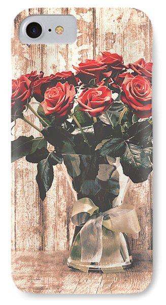 Bouquet Roses IPhone Case by Wim Lanclus