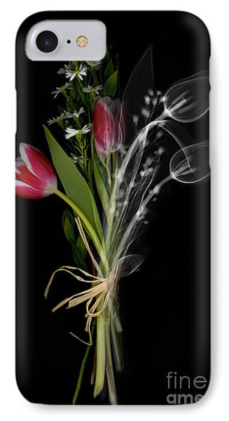 Bouquet X-ray Phone Case by Ted Kinsman