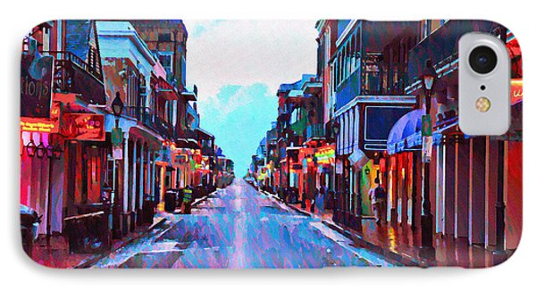 Bourbon Street At Dawn IPhone Case