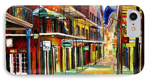 Bourbon Street Lights Phone Case by Diane Millsap