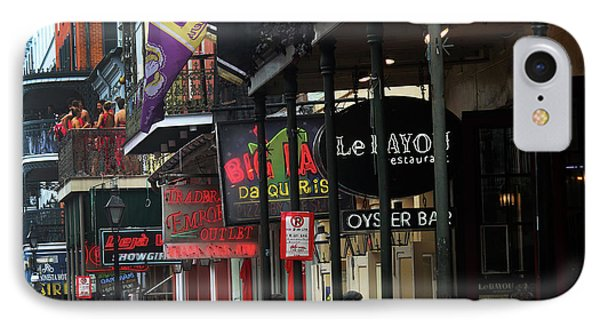 IPhone Case featuring the photograph Bourbon Street by Steven Spak