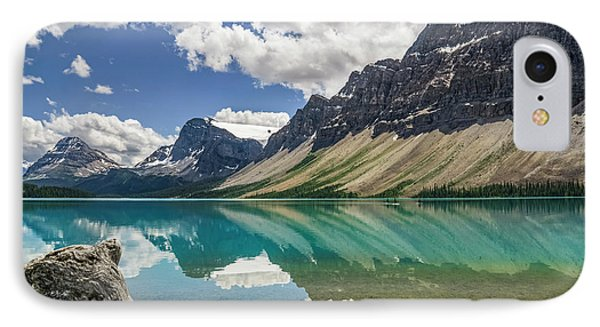 IPhone Case featuring the photograph Bow Lake by Christina Lihani