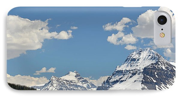Bow Lake Mountains IPhone Case