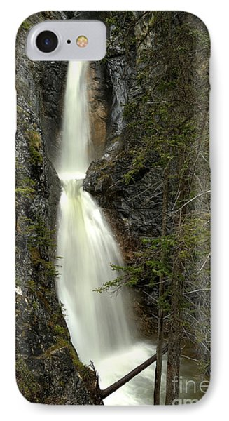 Bow Valley Silverton Falls IPhone Case by Adam Jewell