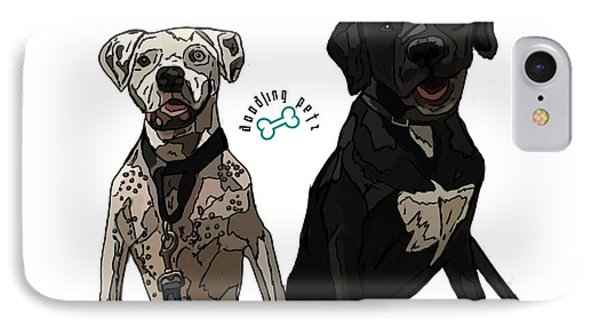 Bowie And Nala IPhone Case