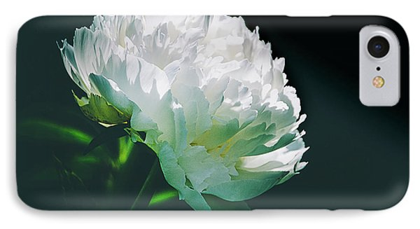 IPhone Case featuring the photograph Bowl Of Cream Peony by Julie Palencia